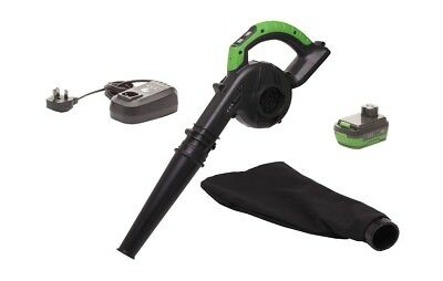 CEL 14.4V 1500mAh Li-Ion Cordless Blower with battery + charger
