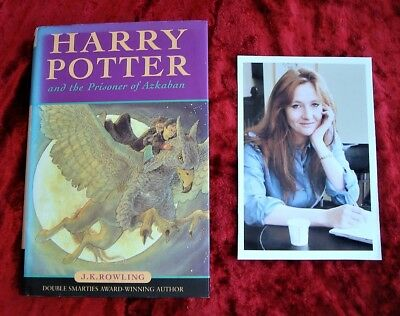 J.K. ROWLING - HARRY POTTER & The Prisoner of AZKABAN - First Edition - 1999 H/B