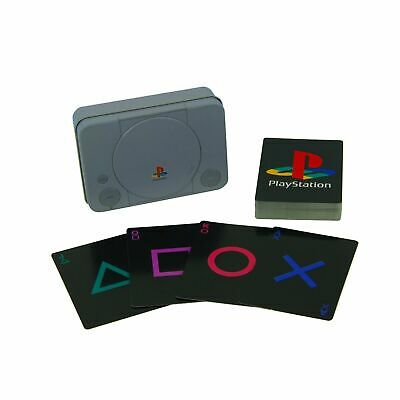 PlayStation Playing Cards & Collectable Tin