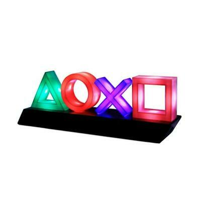 PlayStation Icons Light - Retro Gaming Mood Lamp Colour Phasing & Music Reactive