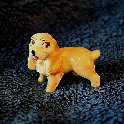 Vintage Wade England Disney Lady and the Tramp Porcelain Lady Figure 1950's