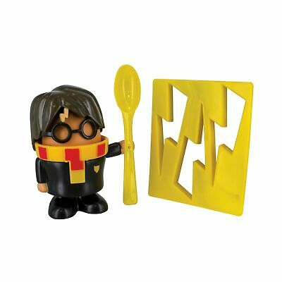 Harry Potter Egg Cup and Toast Cutter Set Kids Hard Boiled Breakfast Egg Cups