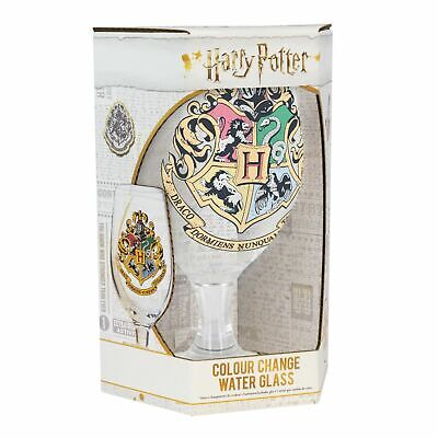 Hogwarts Crest Colour Change Drinking Glass