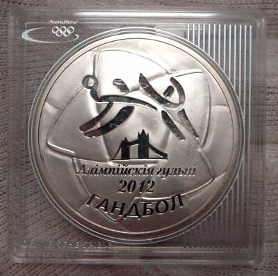 Belarus 20 Rubel 2009 Olympiade London Silber PP/Proof