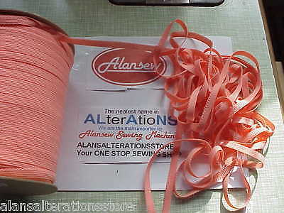20 metres of VERY PRETTY PEACH 10mm LACE elastic