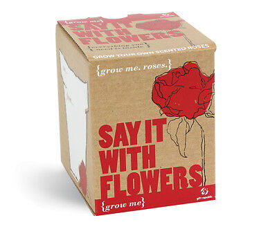 Plants Set Roses Sag Es WITH FLOWERS SEEDS 4 Pieces Grow Me Box