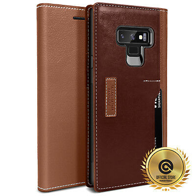 OBLIQ® Galaxy Note 9 [K3 Wallet] 4 Card Hand Made Premium Leather Case Cover