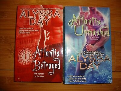 Warriors of Poseidon Series (lot of 2) by Alyssa Day (Paranormal Romance)
