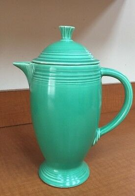 Fiesta Fiestaware Vintage Green Coffee Pot Vintage Original