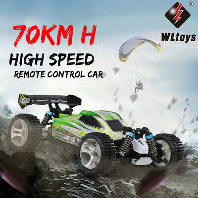 WLtoys A959-B 2.4G 1/18 4WD 70KM/h Electric RTR Off-road Buggy RC Car USA Dealer