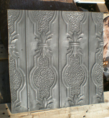 SALE! Antique Victorian Ceiling Tin Tile Pie Cupboard Cabinet Doors Cottage Chic