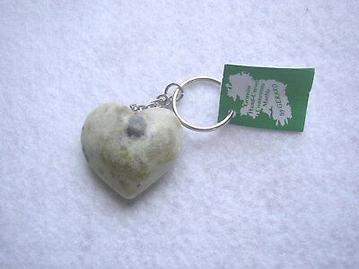 Connemara Marble by Gerard Heart Key Ring, made in Ireland
