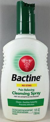 Bactine Pain Relieving Cleansing Spray First Aid Antiseptic - 5 fl oz