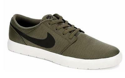 c5919692f93e NIKE SB Portmore II Ultralight Men s Sneakers Olive Green Skateboard Shoes  NEW