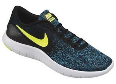 Boy's Youth NIKE FLEX CONTACT Blue+Black Athletic Sneakers Shoes 917932 NEW