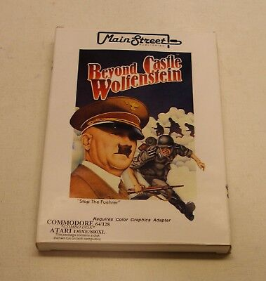 Beyond Castle Wolfenstein for Atari 400/800 and Commodore 64 - NEW in Box