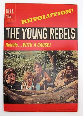 The Young Rebels #1 (VF+) 8.5 Bronze Age Dell Comics TV Show