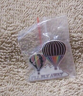 I'll Fly Away Balloon Pin