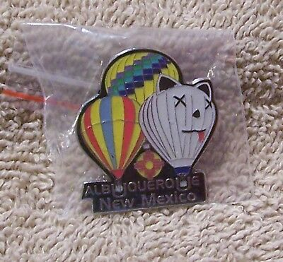 "Albuquerque New Mexico 1 1/2"" By 1 1/2"" Balloon Pin"