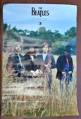 The BEATLES  Anthology  3  APPLE Records 1996 PROMO POSTER