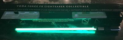 Star Wars Yoda Green Lightsaber Force FX 2007 Master Replicas with Box SW-217