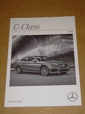 2018 Mercedes Benz C Class + Amg Brochure 60 Pages Mint!