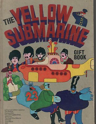 YELLOW SUBMARINE GIFT BOOK  by the BEATLES 1st Edition (1968)