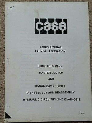 Case 2090 To 2590 Tractor Master Clutch & Range Powershift Hyd Training Manual