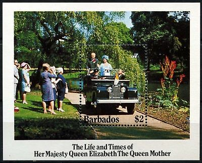 Barbados 1985 SG#MS783 Queen Mother MNH M/S #D73643