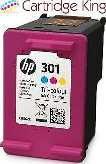 Original HP 301 Colour ink cartridge for HP Deskjet 1510