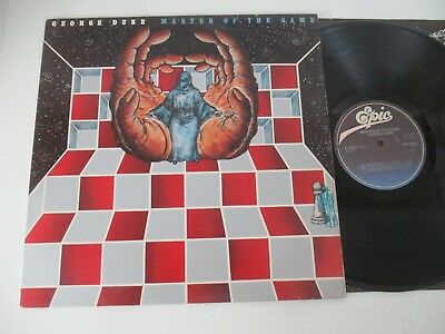 George Duke/master Of The Game  Lp 1979 Cbs Epic Epc 83951