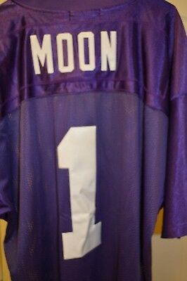 aee42076c Warren Moon  1 Vikings Mitchell and Ness Throwbacks 1993 NFL Jersey Size 54  SEWN