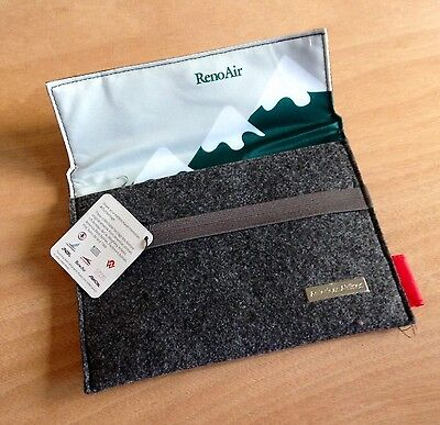 AMERICAN AIRLINES Heritage Amenity Kit RENO AIR Case for Tablets Reader - Travel