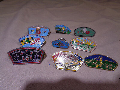 Vintage Mixed Lot Of Boy Scout Pins **csp**