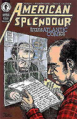 American Splendor: Transatlantic Comics #1 VF/NM; Dark Horse | save on shipping