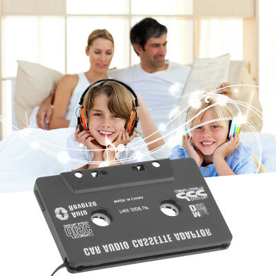Audio AUX Car Cassette Adapter Tape Converter 3.5MM For iPhone iPod MP3 Android