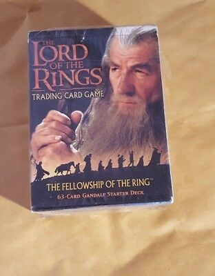 Lord Of The Rings Tcg - The Fellowship Of The Ring - Gandalf Starter Deck