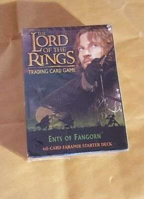 Lord Of The Rings Tcg - The Ents Of Fangorn - Faramir Starter Deck