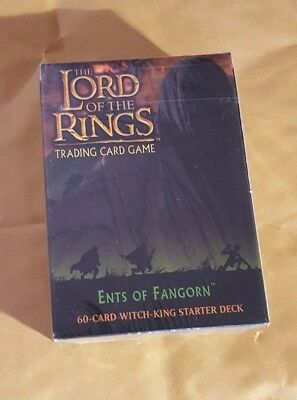 Lord Of The Rings Tcg - The Ents Of Fangorn - The Witch-King Starter Deck