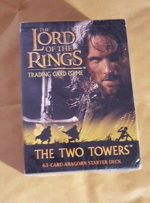Lord Of The Rings Tcg - The Two Towers - Aragorn Starter Deck