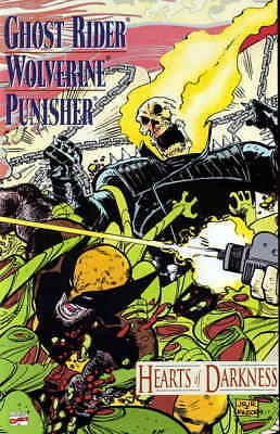 Ghost Rider, Wolverine, Punisher: Hearts of Darkness #1 VF/NM; Marvel | save on