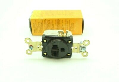 Hubbell HBL5361 Receptacle 2p 3w 20a Amp 125v-ac