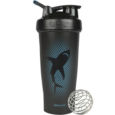 Blender Bottle Special Edition 28 oz. Shaker with Loop Top - Shark