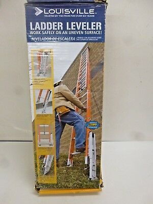 New!! Louisville Ladder Leveler, Aluminum, 375Lb, Lp-2220-01