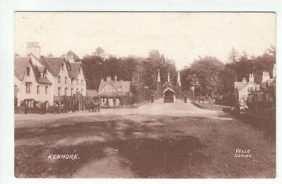 Kenmore Village Perthshire Early 1900's Vello Series Old Postcard Unposted