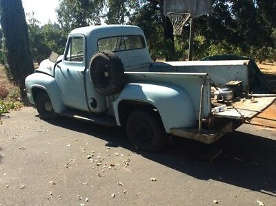 1955 Ford F-100  1955 Ford F100