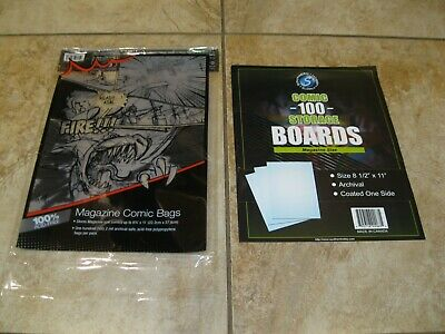 Lot of 10 Magazine Bags and Magazine Boards - Free Shipping