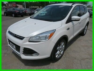 Ford Escape SEL 2013 SEL Used Turbo 1.6L I4 16V Automatic FWD SUV clean clear title carfax