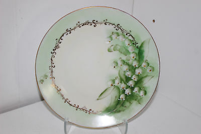 "Vintage Favorite Bavaria Hand Painted 6.75"" Porcelain Cabinet Plate-Berries"