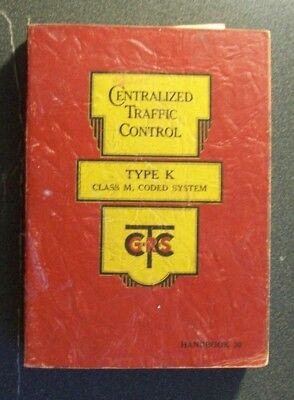 Grs General Railway Signal Co Sc Book  Ctc Centralized Traffic Control 1948